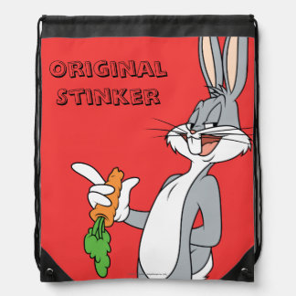 BUGS BUNNY™ With Carrot Drawstring Bag