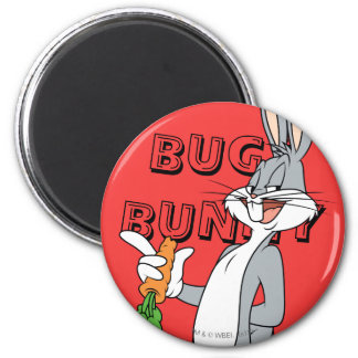 BUGS BUNNY™ With Carrot Magnet