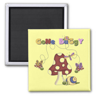Bugs Gone Buggy Tshirts and Gifts Magnet