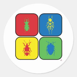 Bugs Pop Art Sticker