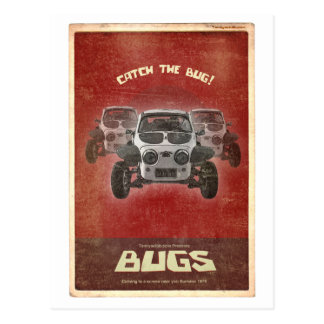 Bugs: Sand Scorcher Postcards