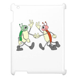 Bugs Shaking Hands Case For The iPad 2 3 4