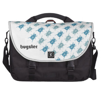 Bugzter - Blue Beetle Handbag Laptop Computer Bag