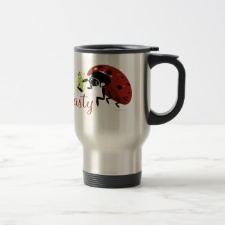 Bugzter - Lady Bug Tasty Stainless Steel Travel Mug