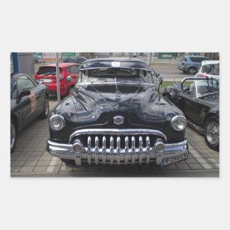 Buick 1950 Super Eight Rectangular Stickers