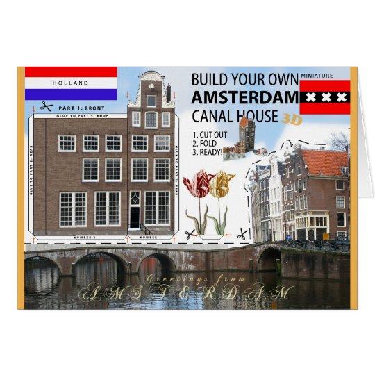 Build an Amsterdam Canal House Cut & Fold