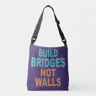"""Build Bridges Not Walls"" bags"