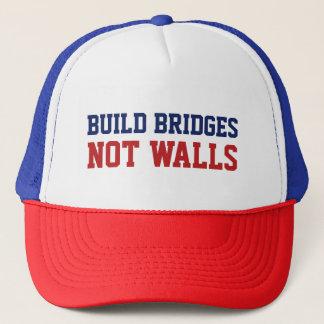 """""""Build Bridges Not Walls"""" trucker hats"""