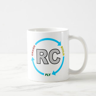 Build Crash Fly RC Basic White Mug