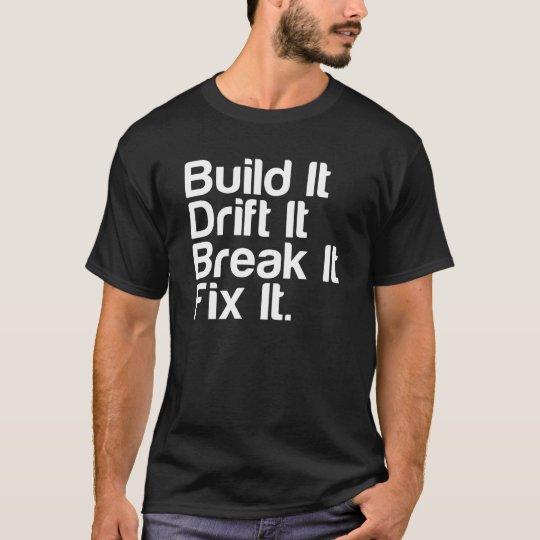 Build It, Drift It, Break It, Fix It