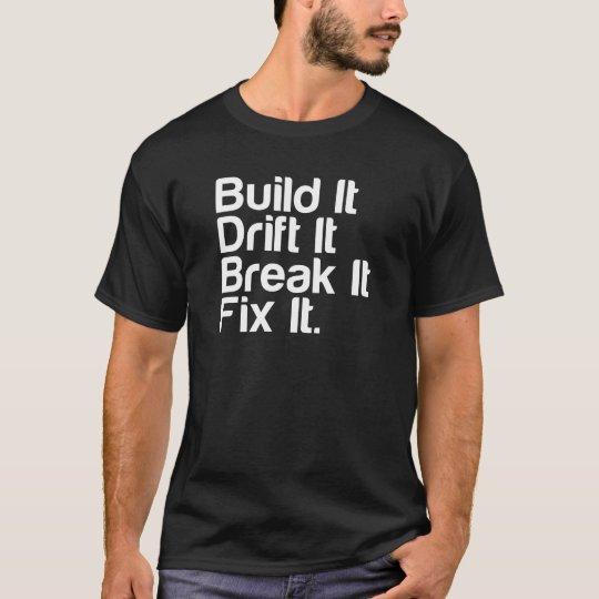 Build It, Drift It, Break It, FixIt -