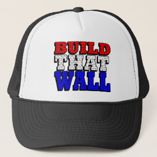 BUILD THAT WALL TRUCKER HAT