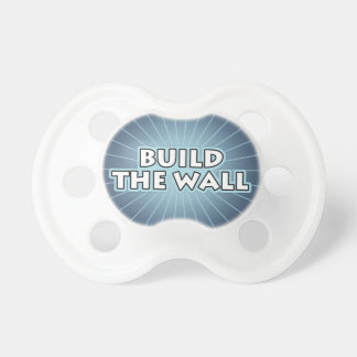 Build The Wall Baby Pacifier