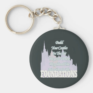 Build Your Castles In The Air Keychain