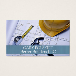 Builder Construction Business Card