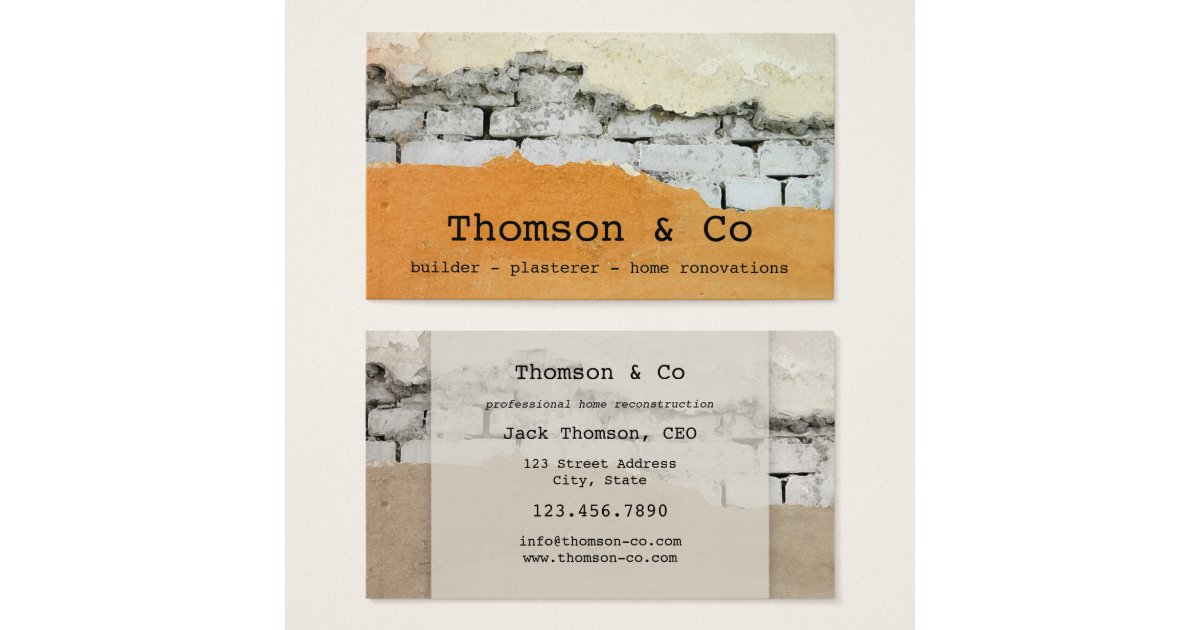 Property Business Cards - Business Card Printing | Zazzle.co.uk