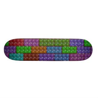 Builder s Bricks - Rainbow Skate Board Decks