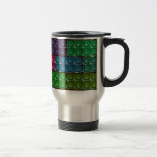 Builder's Bricks - Rainbow Travel Mug