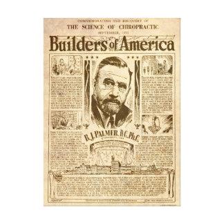 Builders of America Canvas Print