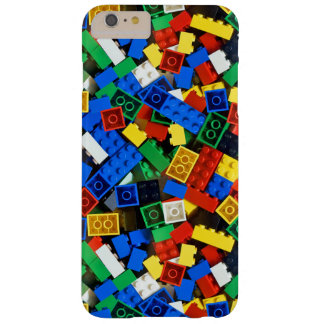 """Building Blocks Construction Bricks """"Construction Barely There iPhone 6 Plus Case"""