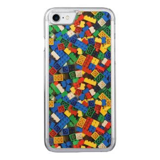 "Building Blocks Construction Bricks ""Construction Carved iPhone 8/7 Case"