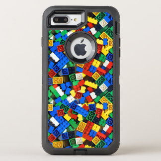 "Building Blocks Construction Bricks ""Construction OtterBox Defender iPhone 8 Plus/7 Plus Case"