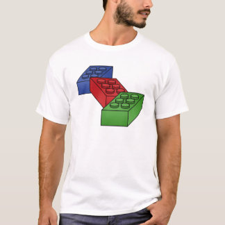 Building Blocks Illustration T-Shirt