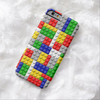 Building Blocks Primary Color Boy's Birthday/Party Barely There iPhone 6 Case