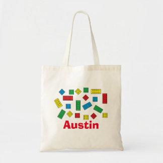 """""""Building Blocks"""" Tote Bag"""