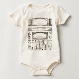 Building Bridges Baby Bodysuit
