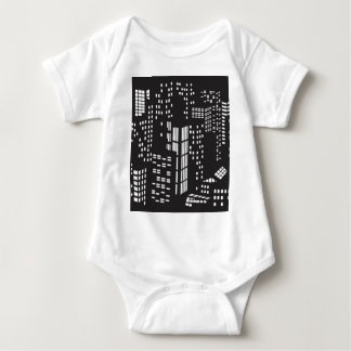 Building, buildings, structure, architecture, city baby bodysuit