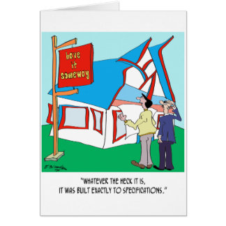 Building Cartoon 9233 Card