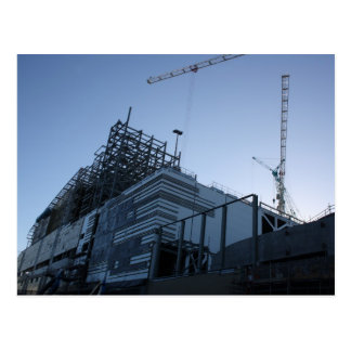 Building Construction Plant/Site Postcard