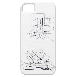 Building Games Original Drawing - Iphone Case iPhone 5 Covers