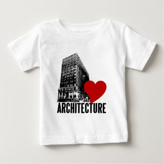 Building I Love Architecture Tee Shirt