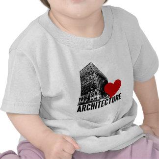 Building I Love Architecture T-shirt