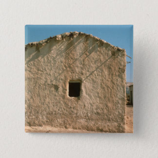 Building in Old Jericho 15 Cm Square Badge