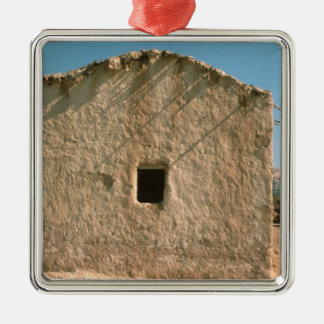 Building in Old Jericho Christmas Ornament