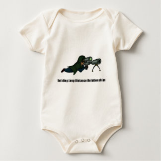 Building Long Distance Relationships Baby Bodysuit