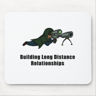 building long distance relationships mouse pad