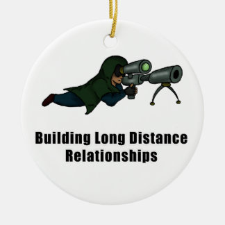 building long distance relationships round ceramic decoration