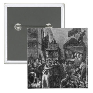 Building of Avenue de l'Opera 15 Cm Square Badge