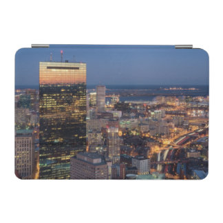 Building of Boston with light trails on road iPad Mini Cover