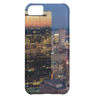 Building of Boston with light trails on road iPhone 5C Case