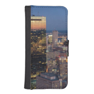 Building of Boston with light trails on road iPhone SE/5/5s Wallet Case