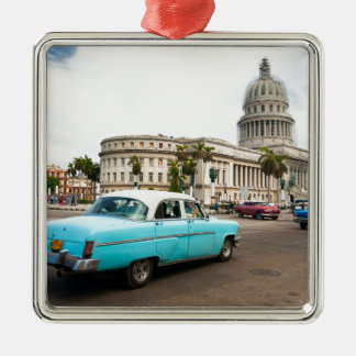 Building of Capitol in Havana Christmas Ornament