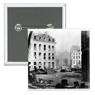 Building of the Avenue de l'Opera 15 Cm Square Badge