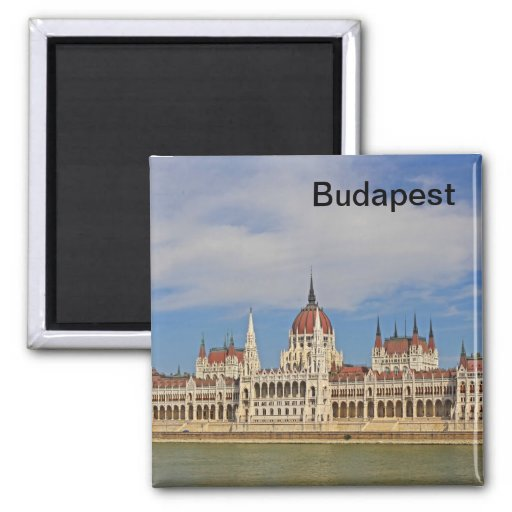 Building of the Budapest parliament, Hungary Refrigerator Magnets