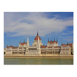 Building of the Budapest parliament, Hungary Postcard