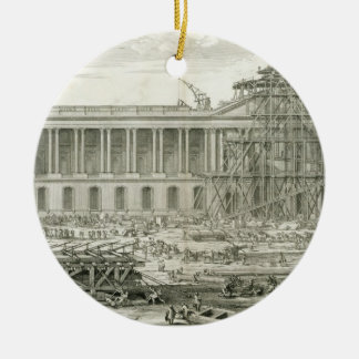 Building of the Main Entrance of the Louvre, Paris Christmas Ornament
